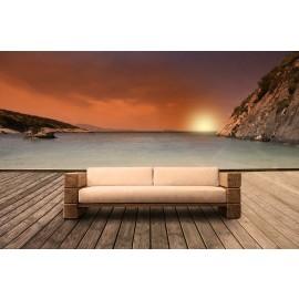 The Verbier Outdoor  Bespoke Three Seater Sofa - Natural English Oak