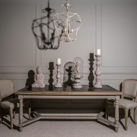 Arlington Single Light Cage Chandelier