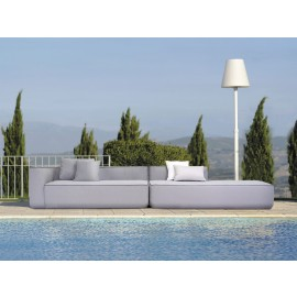 Aruba Bespoke Modular Outdoor Chaise Sofa (Right Chaise)