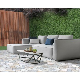 Aruba Bespoke Modular Outdoor Small Chaise Sofa