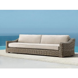 Barcelona Luxury Bespoke Outdoor Three Seater Sofa