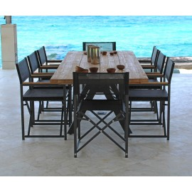 Barroco Outdoor Teak Dining Table
