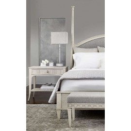 Bianchi Upholstered Panel Bed