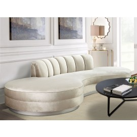 Bordeaux Curved Bespoke Sofa