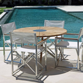Cadiz Outdoor 4 Seater Dining Set