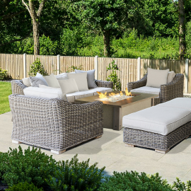 Canterbury Luxury Outdoor Three Seater Sofa
