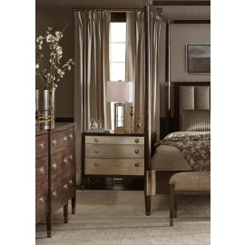 Claremont Brass Nightstand