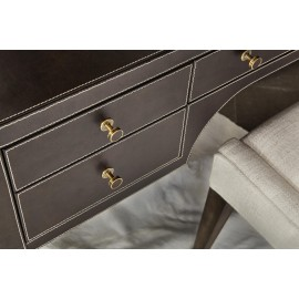 Claremont Leather Desk