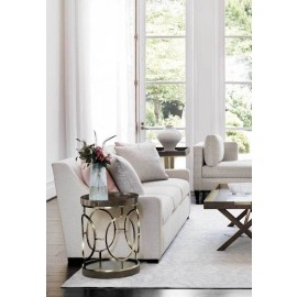 Claremont Round End Table