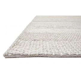 Cream Stripe Westbourne Wool Rug
