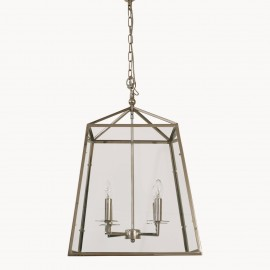 Delano Nickel Four Light Pendant
