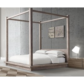 Eastwood Luxury Wooden Four Poster Bed - Bespoke Bed