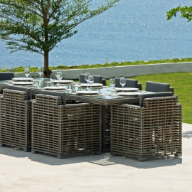 Havana Bespoke Outdoor Large Dining Table - Luxury Outdoor Furniture
