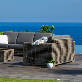 Havana Bespoke Outdoor Love Seat - Luxury Outdoor Furniture