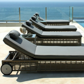 Havana Bespoke Outdoor Sun Lounger - Luxury Outdoor Furniture