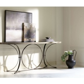 Hemingway Metal Console Table