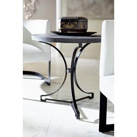Hemingway Round Metal Side Table