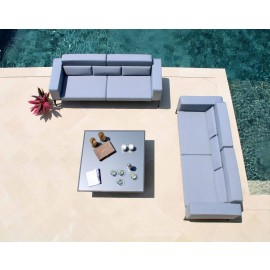 Kaua Outdoor Square Coffee Table