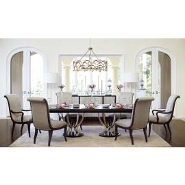 Kensington Burl Dining Table