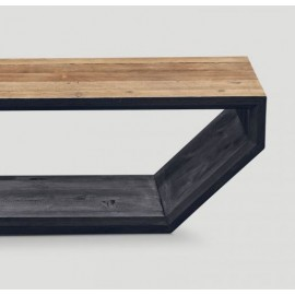 Lavagna Old Wood Console Table