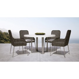 Leroux Round Dining Chair