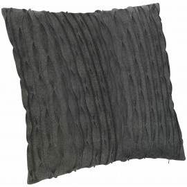 Luxe Pleated Wool Cushion