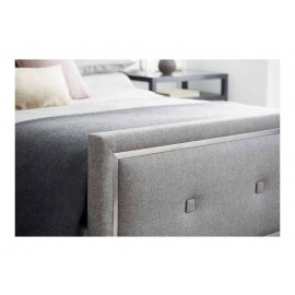 Mondrian Upholstered Panel Bed