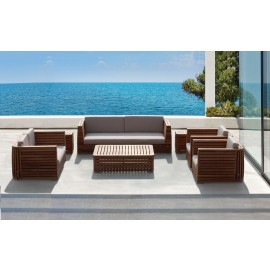 Pisco Luxury Outdoor Three Seater Sofa