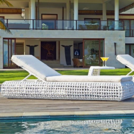 Ritz Bespoke Outdoor Sun Lounger