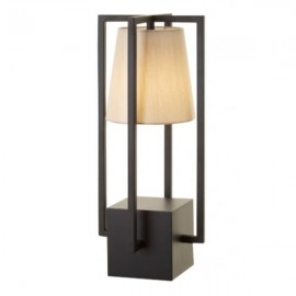 Olivio Black Hurricane Lamp