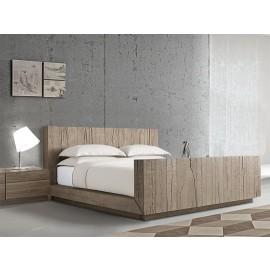 Verbier Luxury Wooden Bed - Bespoke Bed
