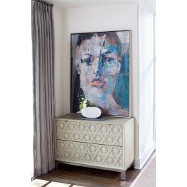 Waldorf Geometric Drawer Chest