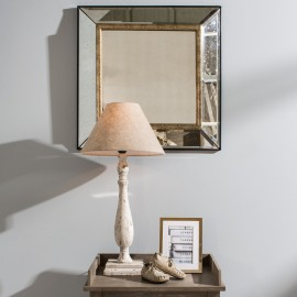 Waltham Antique Glass Wall Mirror