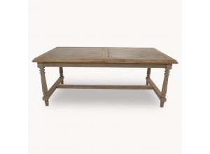 Windsor Dining Table With Double Stone Inlay