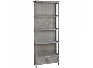 4 Shelf Potting Shed Bookcase With 2 Storage Drawers