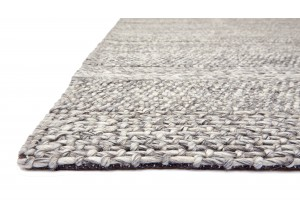 Grey Stripe Westbourne Wool Rug