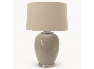 Milton Glazed Ceramic Table Lamp