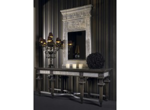 OCTOBAR CARVED CONSOLE by Coleccion Alexandra