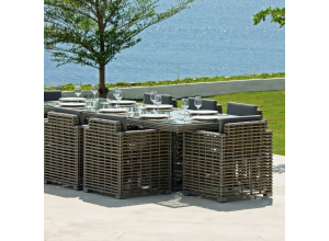 Havana Bespoke Outdoor Large Dining Table - Luxury Outdoor Furniture
