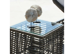 Havana Bespoke Outdoor Side Table - Luxury Outdoor Furniture