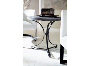 Hemingway Round Metal Side Table