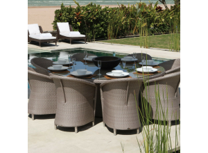 Levanzo Outdoor 6/10 Seater Round Dining Set - Bespoke Options