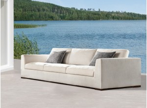 Mauritius Bespoke Outdoor Three Seater Sofa