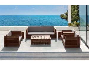Pisco Luxury Outdoor Three Seater Sofa