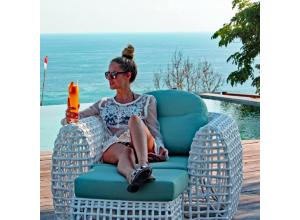 Ritz Bespoke Outdoor Arm Chair