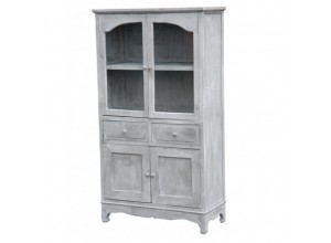 Rustic Grey Cabinet