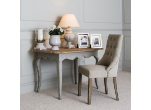 St James Padded Light Grey Dining Chair