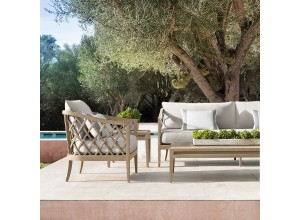 Venice Luxury Outdoor Two Seater Sofa