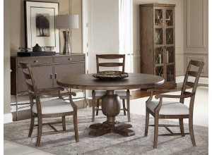 Westbourne Peppercorn Round Dining Table