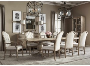 Westbourne Sand Rectangular Dining Table